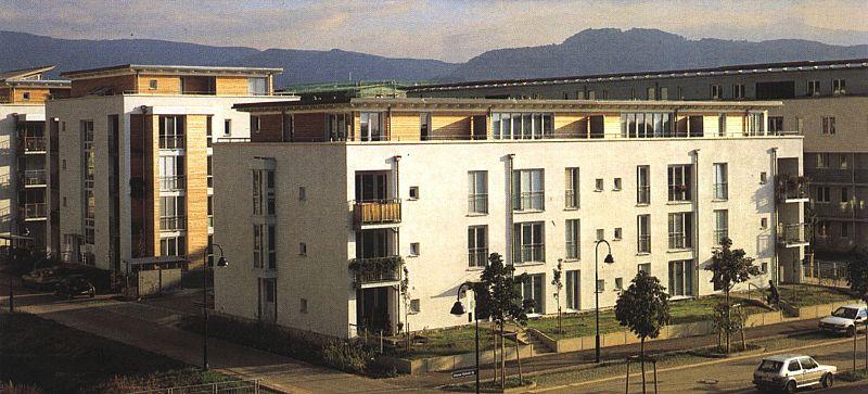 Architektur Freiburg wohnungsbau im rieselfeld freiburg im breisgau staehr partner